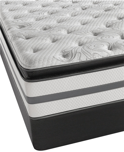 Simmons Beautyrest Recharge Plush Pillowtop Queen Mattress Set