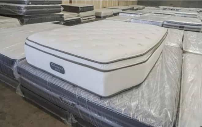 Custom size RV or boat Mattress