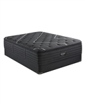 Simmons Beautyrest Black C-Class 16 inch Plush Pillow Top Mattress Set - California King