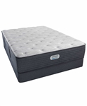 Simmons Beautyrest Platinum Preferred CH 14 inch Plush Mattress Set - Twin