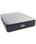 Simmons Beautyrest Platinum Preferred CH 15 inch Luxury Plush Pillow Top Mattress - Twin