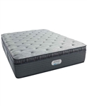 Simmons Beautyrest Platinum Preferred CR 16 inch Luxury Firm Pillow Top Mattress - Twin