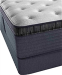 Simmons Beautyrest Platinum Preferred CR 16 inch Luxury Firm Pillow Top Mattress Set - Twin