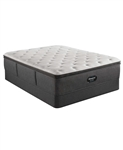 Simmons Beautyrest Silver BRS900-C-TSS 16.5 inch Medium Firm Pillow Top Mattress Set - California King
