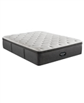 Simmons Beautyrest Silver BRS900-C-TSS 16.5 inch Plush Pillow Top Mattress - California King