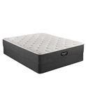 Simmons Beautyrest Silver BRS900-TSS 12 inch Plush Mattress Set - Queen