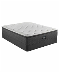 Simmons Beautyrest Silver BRS900-TSS 14.75 inch Medium Firm Pillow Top Mattress Set - King
