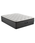 Simmons Beautyrest Silver BRS900-TSS 14.75 inch Plush Pillow Top Mattress Set - Queen