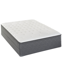 Sealy Posturepedic Cushion Firm Eurotop California King Mattress Set