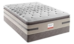 Cal King Sealy Posturepedic Cushion Firm Euro Pillowtop Hybrid Mattress Set