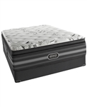Simmons Beautyrest Black 15'' Luxury Firm Pillow Top California King Mattress Set