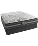 "Simmons Beautyrest Black 13.5"" Luxury Firm California King Mattress Set"