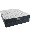 "Simmons Beautyrest Silver Golden Gate 11.5"" Plush California King Mattress Set"