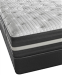 "Simmons Beautyrest Recharge World Class Keaton 13"" Plush California King Mattress Set"
