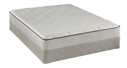 Full Sealy Posturepedic Tight Top Firm Mattress Set