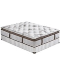 Stearns & Foster Provencial Plush Euro Pillowtop Mattress Full Size Set at Mattress Liquidation