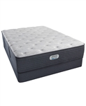 "Simmons Beautyrest Platinum Preferred Cedar Ridge 14.5"" Luxury Firm Mattress Full Set"
