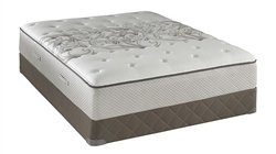 King Sealy Posturepedic Tight Top Plush Mattress Set