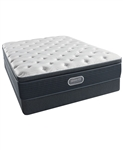 Simmons Beautyrest Silver Golden Gate 13.75in Luxury Firm Pillowtop King Mattress Set