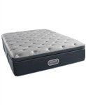 "Simmons Beautyrest Silver Waterscape 15"" Luxury Firm Pillowtop King Mattress"