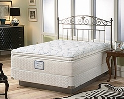 Sealy Posturepedic Luxury Plush Euro Pillowtop King Mattress Set