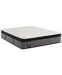 "Sealy Posturepedic Plus 14"" Cushion Firm Euro Pillowtop Mattress - Queen"