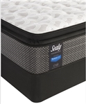 "Sealy Posturepedic 11"" cushion firm eurotop split queen mattress set"