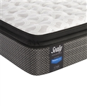 "Sealy Posturepedic 13.5"" Cushion Firm Euro Pillowtop Queen Mattress"