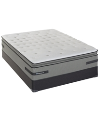 Sealy Posturepedic Plus Cushion Firm Pillowtop Queen Mattress Set