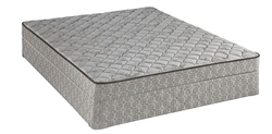 Queen Sealy Mattress Set Tight Top Cushion Firm