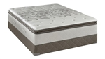 Queen Sealy Posturepedic Firm Euro Pillowtop Mattress Set