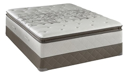 Queen Size Sealy Posturepedic Mattress Sets, Cushion Firm Euro Pillowtop
