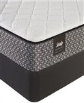 Sealy 9 inch foam firm split queen mattress set