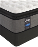 "Sealy Posturepedic Plus 14"" Plush Euro Pillowtop Split Queen Mattress Set"