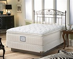 Sealy Posturepedic Luxury Plush Euro Pillowtop Queen Mattress Set