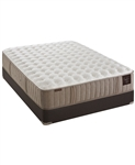 "Stearns & Foster 14"" Luxury Cushion Firm Queen Mattress Set"