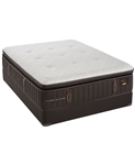 Stearns & Foster 16 inch Luxury Firm Euro Pillowtop Queen Mattress Set at Mattress Liquidation