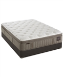 "Stearns & Foster 14.5"" Luxury Plush Euro Pillowtop Queen Mattress Set"