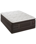 Stearns & Foster 17 inch Luxury Plush Euro Pillowtop Queen Mattress Set at Mattress Liquidation