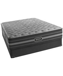 "Simmons Beautyrest Black,15"" Extra Firm Queen Mattress Set"