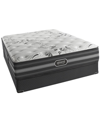 "Simmons Beautyrest Black 13.5"" Luxury Firm Queen Mattress Set"