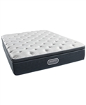 Simmons Beautyrest Silver Golden Gate 13.75 Luxury Firm Pillowtop Queen Mattress Set