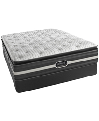 "Simmons Beautyrest Recharge World Class Keaton 14.5"" Luxury Firm Pillowtop Queen Mattress Set"