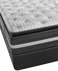 Simmons Beautyrest Recharge World Class Keaton 14.5'' Luxury Plush Pillowtop Queen Mattress Set