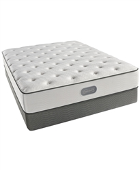 Simmons Beautyrest Cove Point 11.5 Plush Queen Split Mattress Set