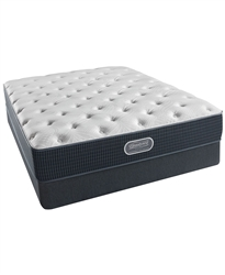 "Simmons Beautyrest Silver Golden Gate 11.5"" Plush Queen Mattress Set"