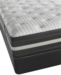 "Simmons Beautyrest Recharge World Class Keaton 13"" Plush Queen Mattress Set"