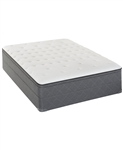 Sealy Posturepedic Cushion Firm Eurotop Queen Split Mattress Set