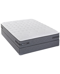 Sealy Posturepedic Cushion Firm Queen Split Mattress Set