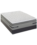 Sealy Posturepedic Plus Plush Pillowtop Queen Split Mattress Set